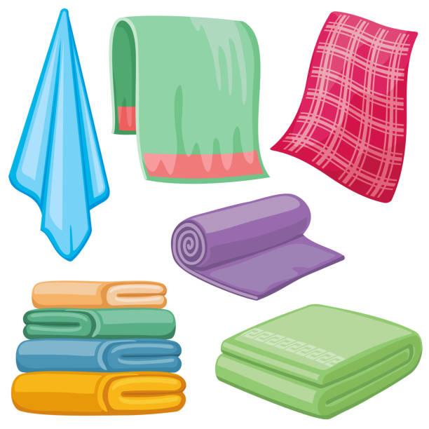 Towel Clip Art: Royalty Free Dry Towels Clip Art, Vector Images