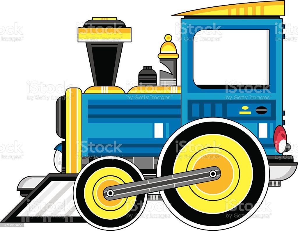Comic Train Engine Stock Vektor Art Und Mehr Bilder Von Bahngleis
