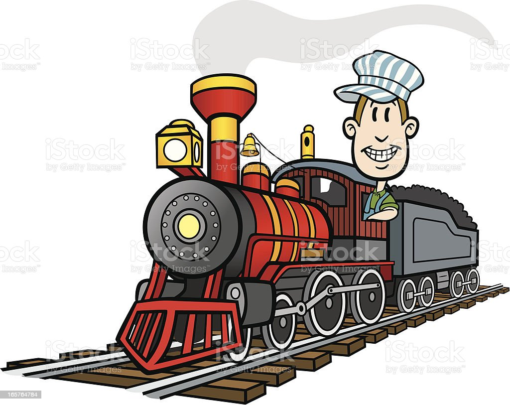 Cartoon Train Stock Illustration - Download Image Now - iStock