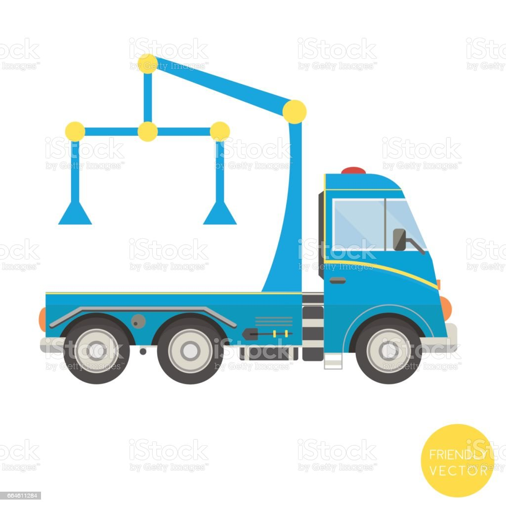 Dibujos Animados De Transporte Ilustración De Vector De Carro De ...