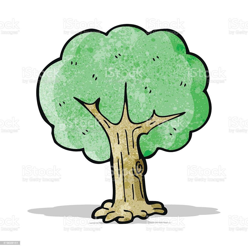Comicbaum stock vektor art und mehr bilder von baum - Baum comic bilder ...