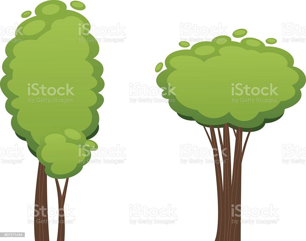 Cartoon Tree Vector Illustration Stock Illustration Download Image Now Istock Modern doodle zentangle contour illustration black. https www istockphoto com vector cartoon tree vector illustration gm607271434 104041865