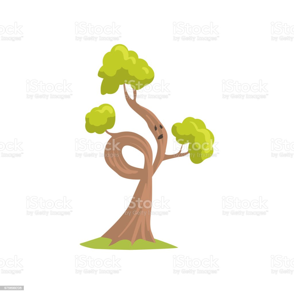 Cartoon Tree With Sad Face Expression Humanized Plant With Green Foliage Natural Element For Forest Landscape Flat Vector Design Stock Illustration Download Image Now Istock Create cartoons and caricatures from your photos with me, thecartoonist! https www istockphoto com vector cartoon tree with sad face expression humanized plant with green foliage natural gm975699206 265381079