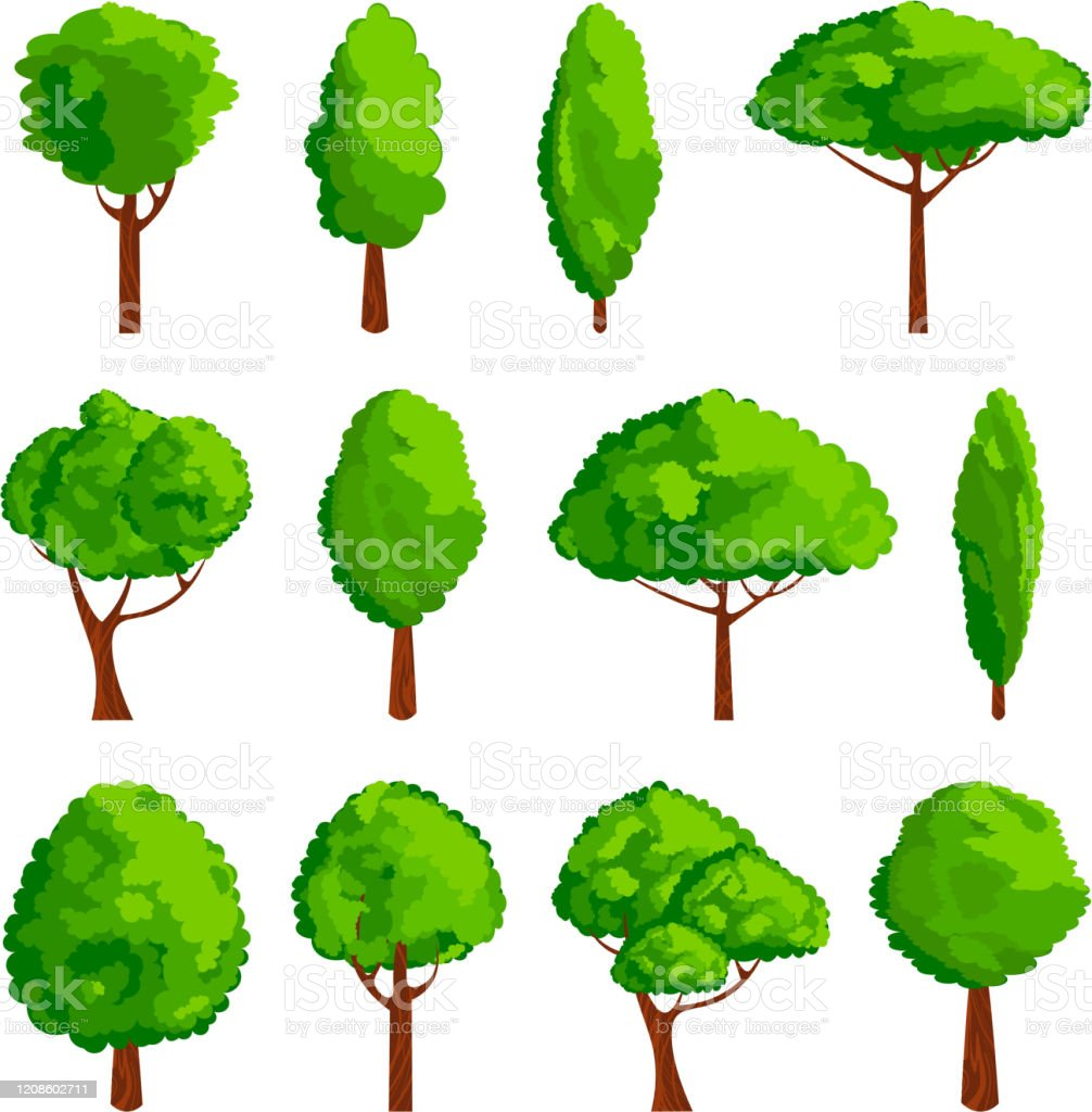 Cartoon Trees Icon Set Game Design Element Vector Illustration Forest Green Silhouette Stock Illustration Download Image Now Istock Most relevant best selling latest uploads. cartoon trees icon set game design element vector illustration forest green silhouette stock illustration download image now istock