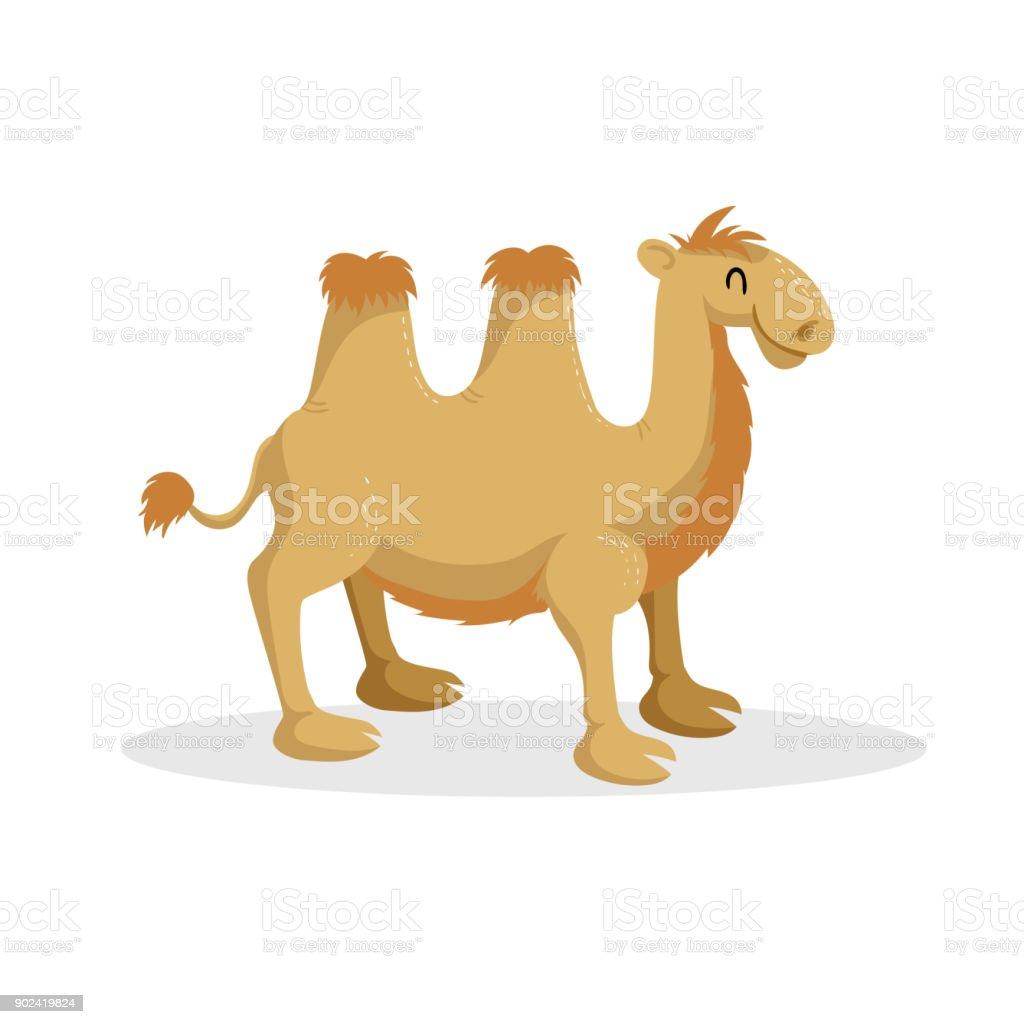 Ilustración de Camello De Bactrian De Diseño De Moda De Dibujos ...