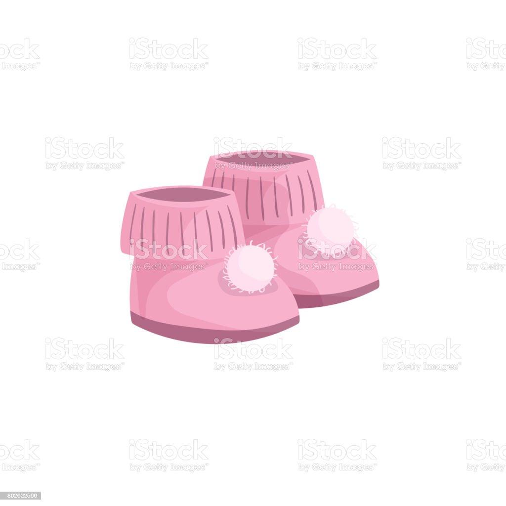 Chaussons bébé dessin animé mignon rose UmzSGlgU50