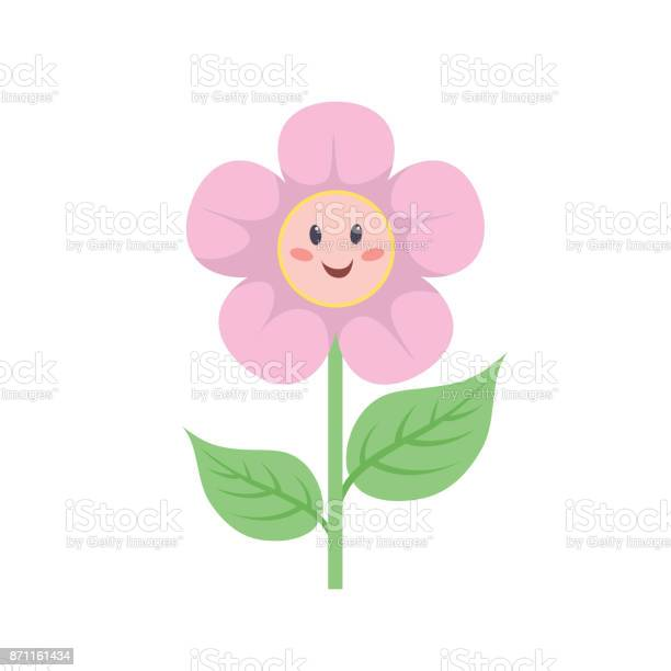 Cartoon trendy style flower with smiling face baby girl and child vector id871161434?b=1&k=6&m=871161434&s=612x612&h=cy99iksrgvy2uyhih nvmyybknpxsobvn8i cqhcark=