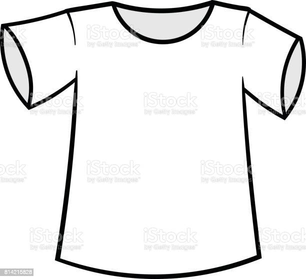 Cartoon Tshirt Vector Illustration Stock Illustration Download Image Now Istock