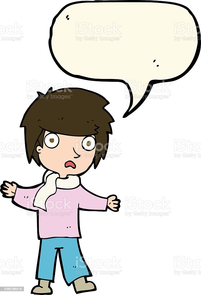 cartoon unhappy boy with speech bubble royalty-free cartoon unhappy boy with speech bubble stock vector art & more images of adult