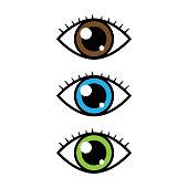 Cartoon Vector Eyes