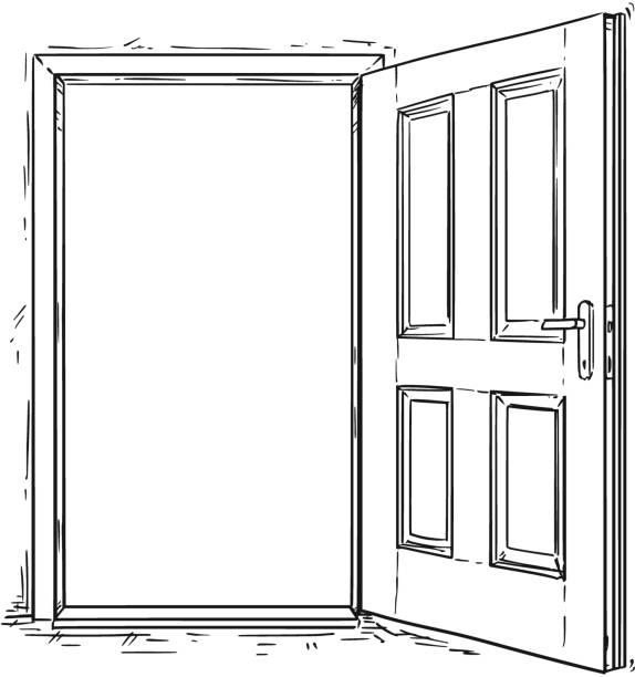 Best Door Illustrations, Royalty-Free Vector Graphics ...