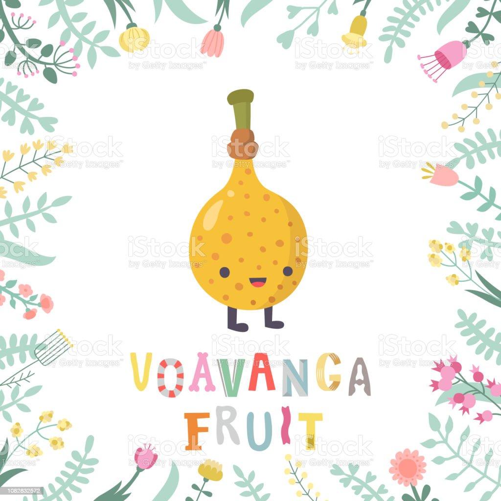 Ilustración De Dibujos Animados De Ilustración De Frutas