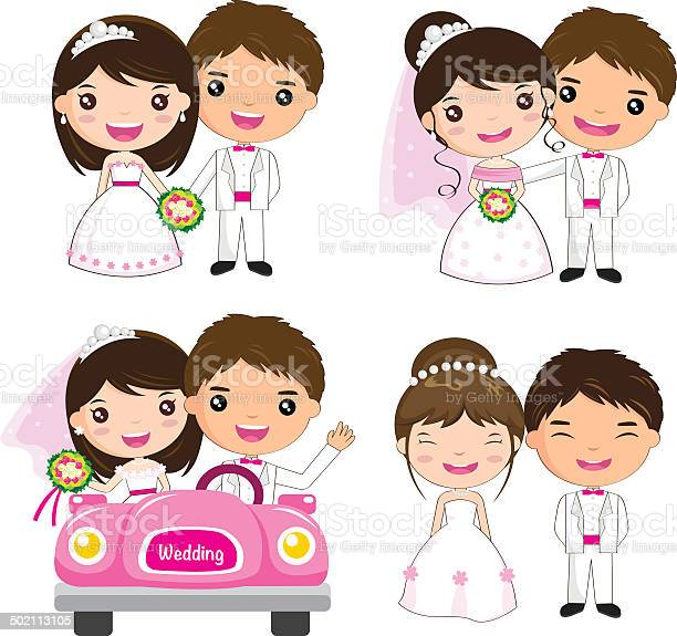 Cartoon wedding set vector id502113105?b=1&k=6&m=502113105&s=612x612&h=kcb83cptekakqx06vxanh2xmcl5 k6vvetxgqleen20=