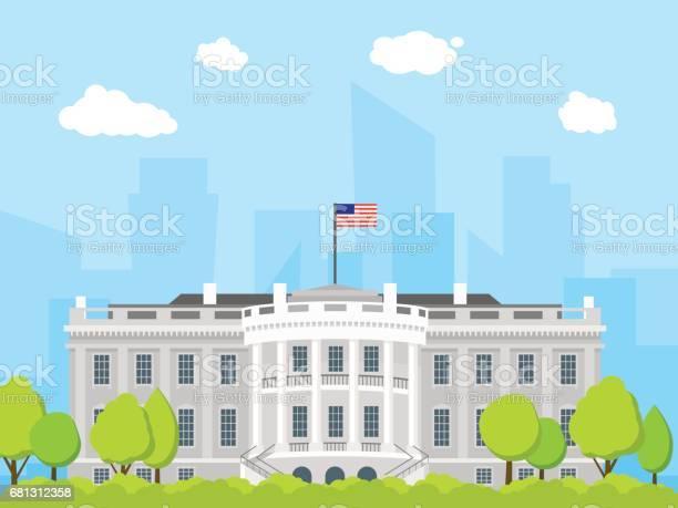 Cartoon white house building vector vector id681312358?b=1&k=6&m=681312358&s=612x612&h=gfeubkj4obd1nyj0843tu84j4rca20dzpaectxl9k4s=