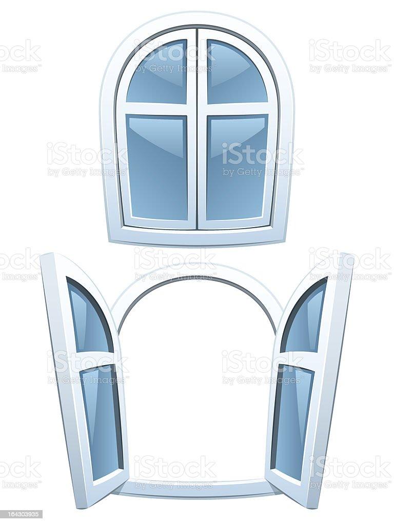 Comic Fenster Stock Vektor Art und mehr Bilder von Architektonisches ...