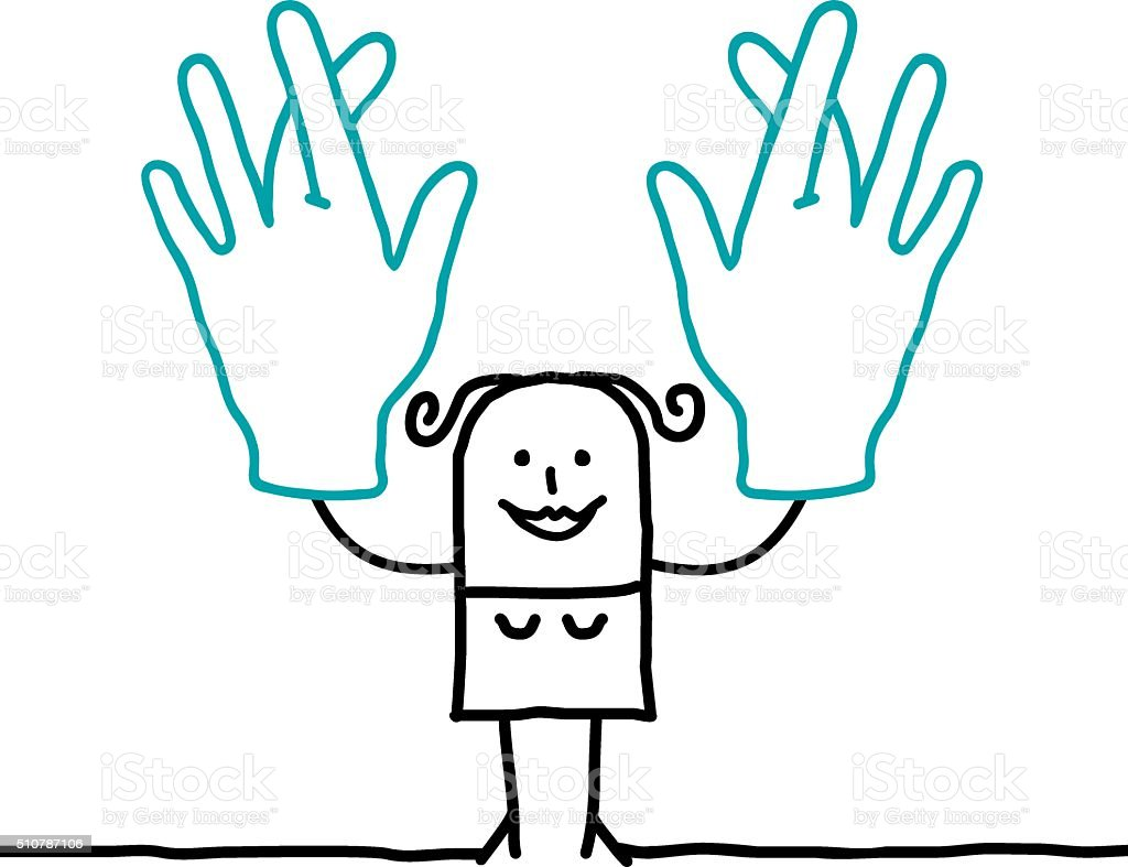 vive le fouteballe ! - Page 3 Cartoon-woman-crossing-her-fingers-vector-id510787106