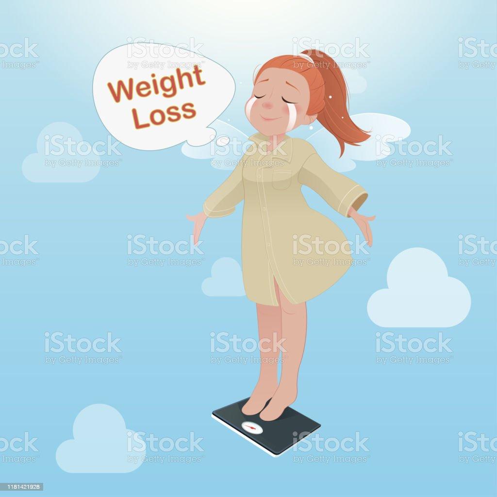 Gewichtsverlust Animation