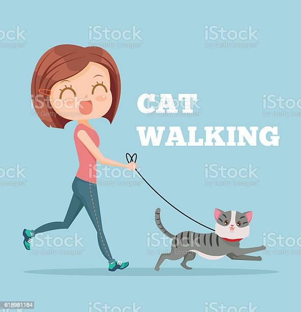 Cartoon woman running with her cat cat walking vector id618981184?b=1&k=6&m=618981184&s=612x612&h=1sy0yoqxb4cx9wbourslvihl  nlfojvdln7gr bryg=