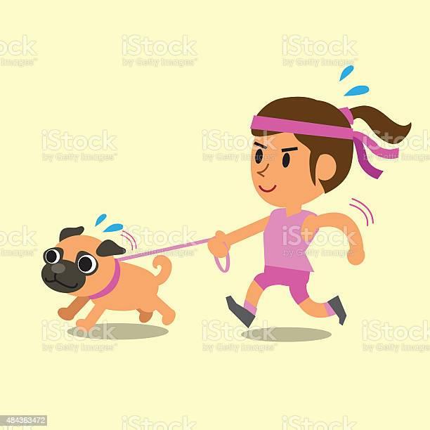 Cartoon woman running with her pug dog vector id484363472?b=1&k=6&m=484363472&s=612x612&h=qkfsjtesf79ixxwrujb2wczwgd5jxy n7tmx6azloiy=
