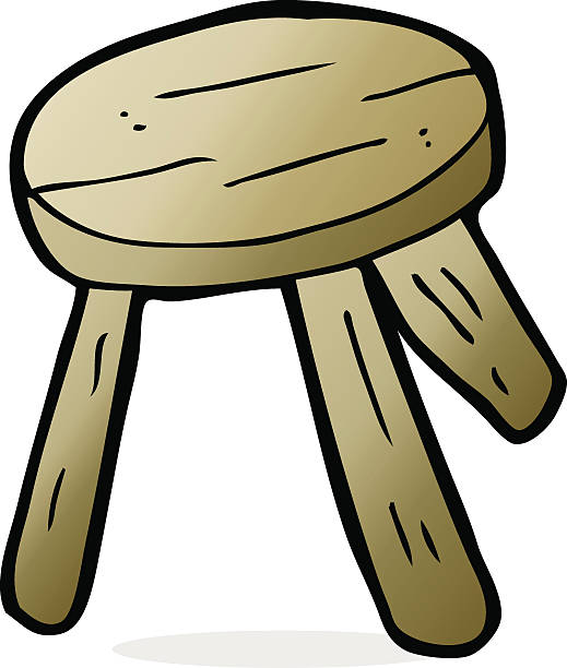 Royalty Free Milking Stool Clip Art Vector Images