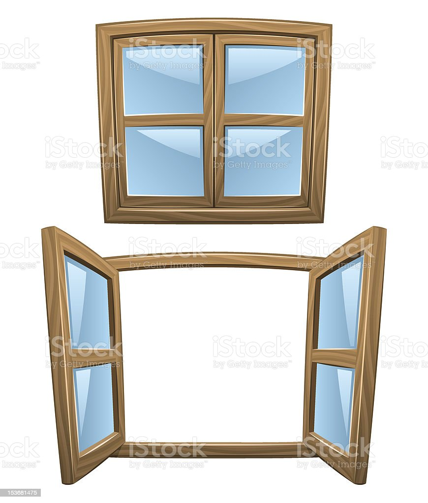 royalty free wooden window frame clip art vector images rh istockphoto com free window frame clipart free window frame clipart
