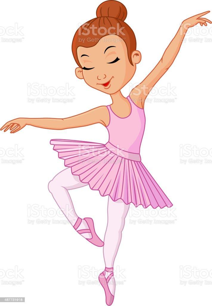 Dessin jeune fille danseuse de ballet cliparts - Danseuse dessin ...