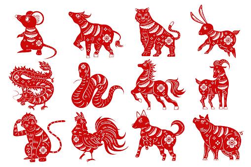 cartoon zodiac silhouette