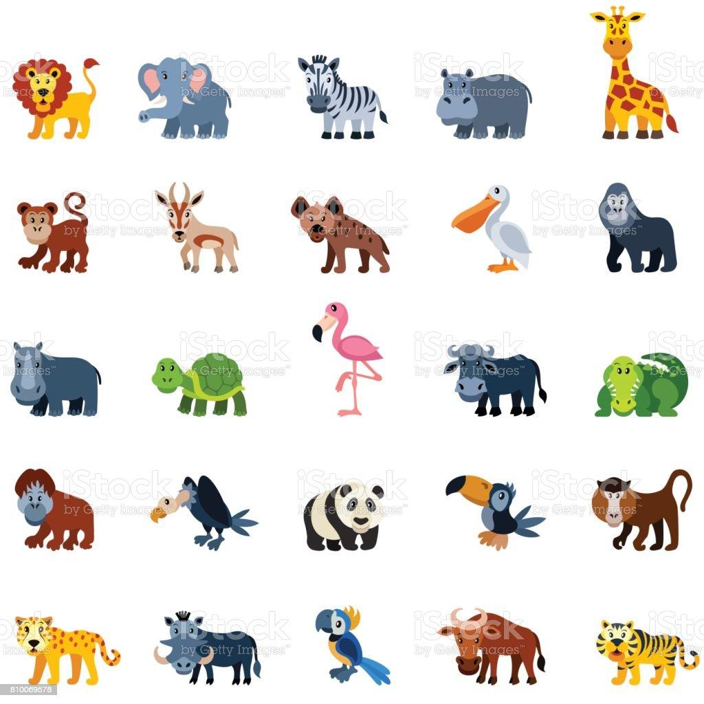 how to draw cartoon zoo animals