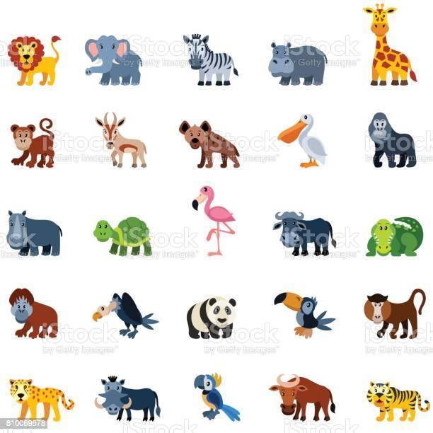Cartoon zoo animals vector id810069578?b=1&k=6&m=810069578&s=612x612&h=3don0uvs srj437zcrq28wxvv9p6bg 8r0hxpuiqv8s=
