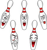 Cartoons Bowling Pins