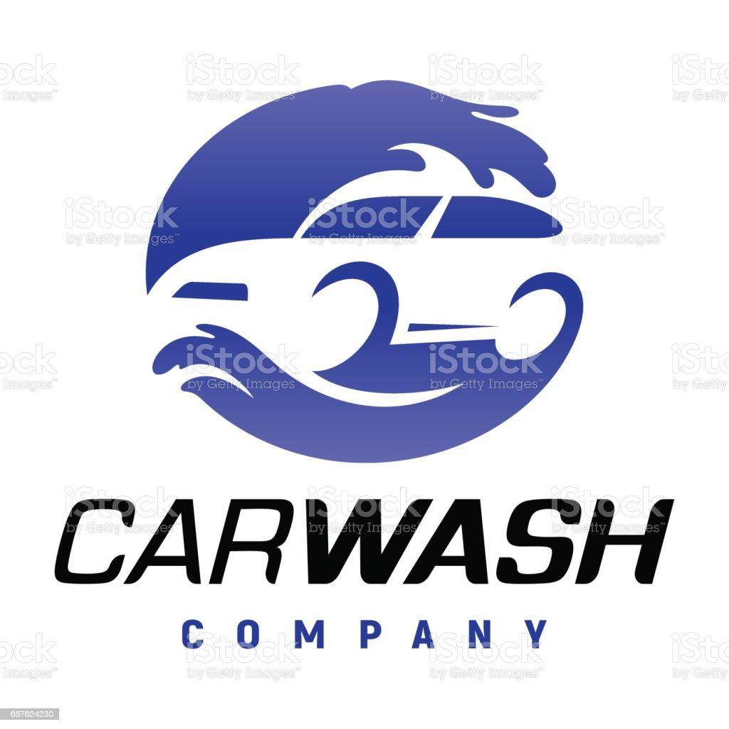 Carwash company logo