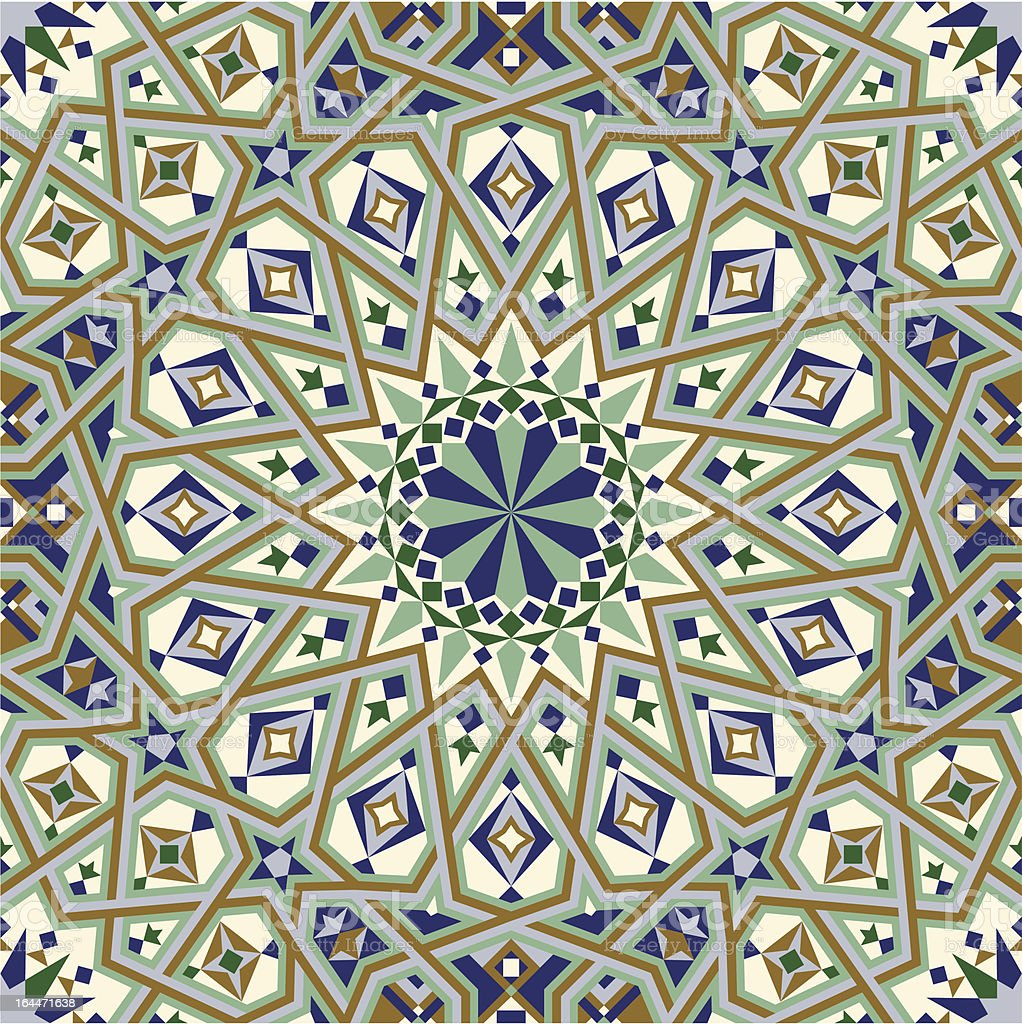 Casablanca Seamless Pattern royalty-free stock vector art
