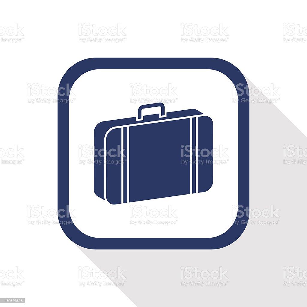 case flat icon vector art illustration