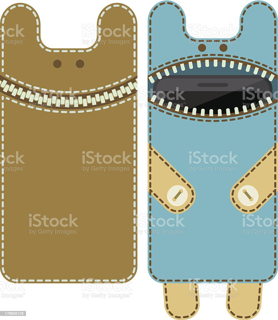 Case for mobile phone - monster royalty-free case for mobile phone monster stock vector art & more images of baby