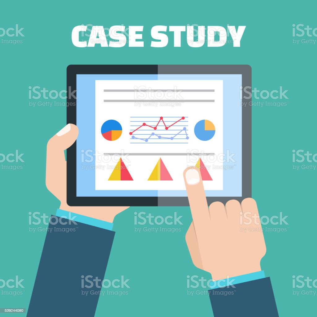 Case study concept vector with computer device royalty-free case study concept vector with computer device stock vector art & more images of apartment