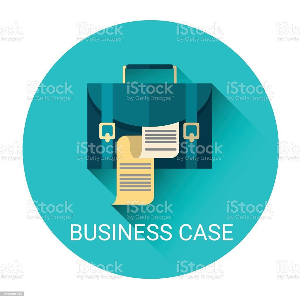 Case With Document Business Icon royalty-free case with document business icon stock vector art & more images of business