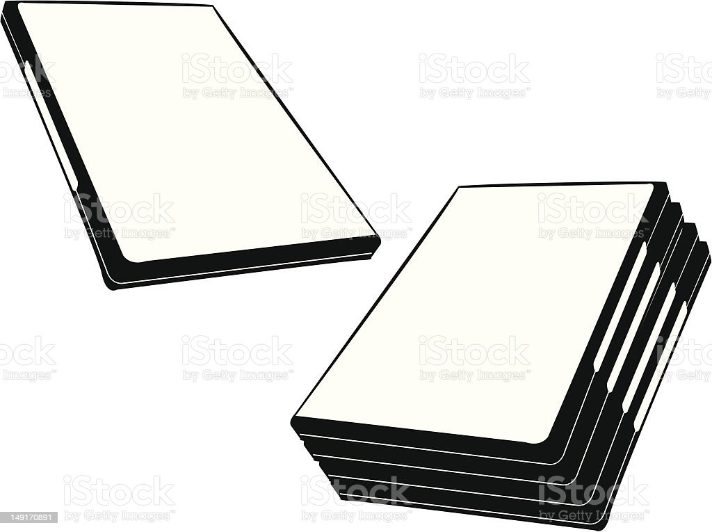 DVD Cases royalty-free dvd cases stock vector art & more images of black and white