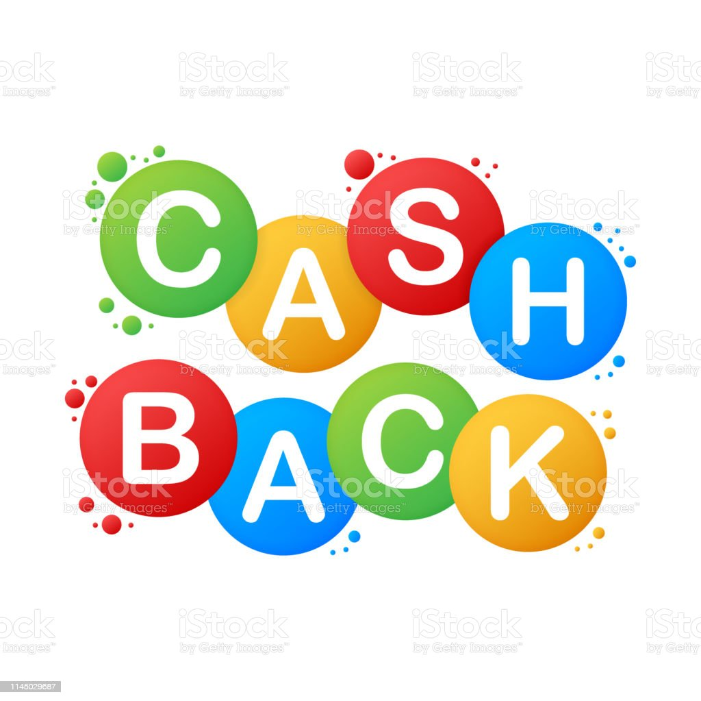 Cash back icon isolated on white background. Cash back or money...