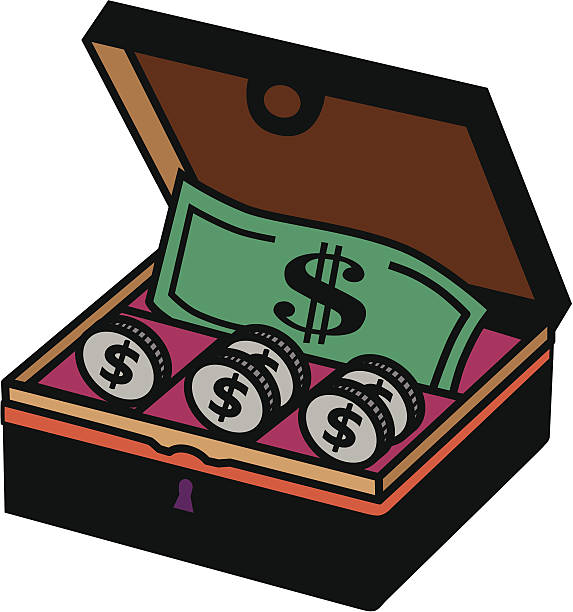 Royalty Free Cashbox Clip Art, Vector Images ...