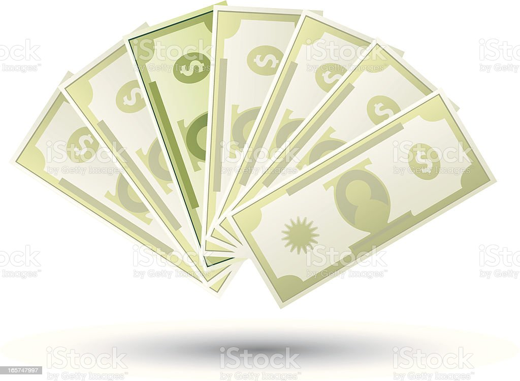 Cash Investment Concept vector art illustration