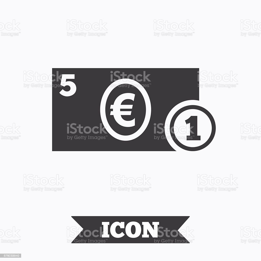 Euro Money Symbol 579233540
