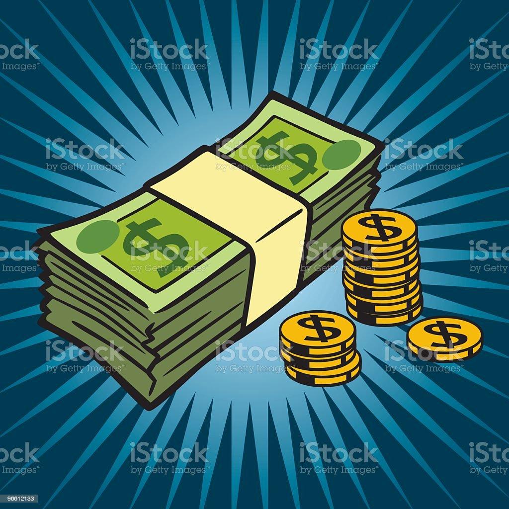 Cash - Royalty-free Aansporing vectorkunst