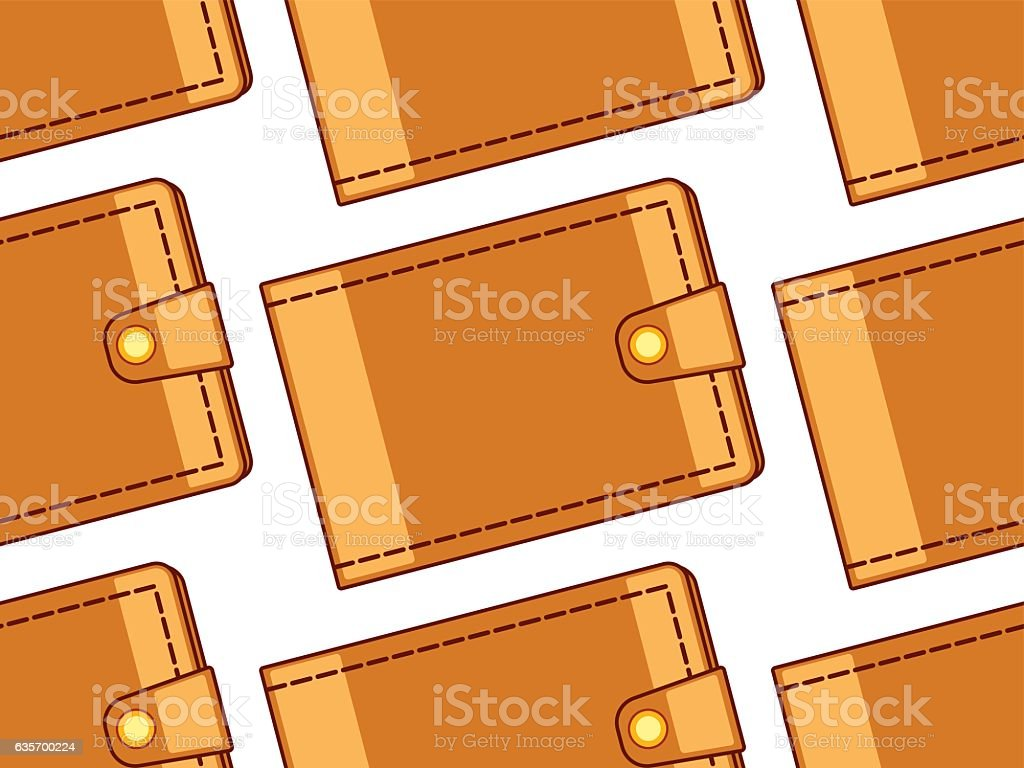 Cash wallet pattern royalty-free cash wallet pattern stock vector art & more images of backgrounds