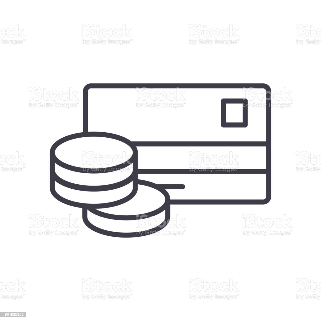 Cash withdrawal black icon concept. Cash withdrawal flat  vector symbol, sign, illustration. royalty-free cash withdrawal black icon concept cash withdrawal flat vector symbol sign illustration stock vector art & more images of atm