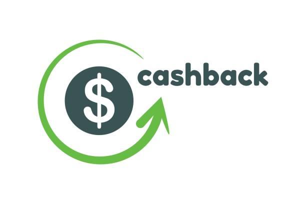 Cashback logo template Cashback logo template refund stock illustrations