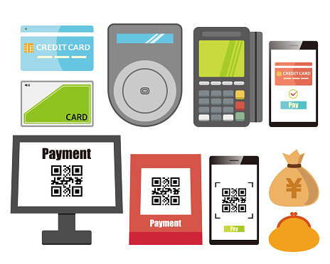 Cashless smartphone Smartphone payment Cashless payment Wallet Credit card