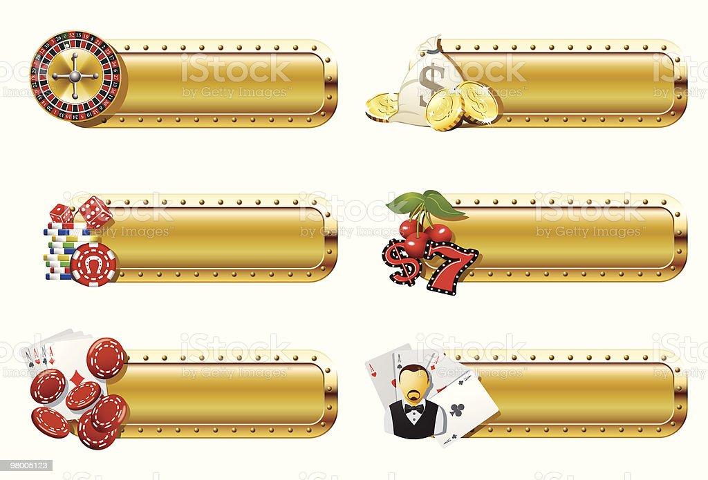 Casino and gambling banners royalty-free casino and gambling banners stock vector art & more images of bag