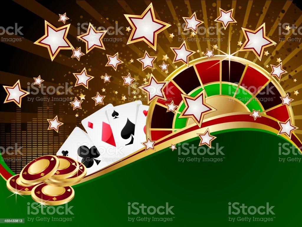 カジノの背景 のイラスト素材 455433813 | istock