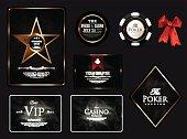 Casino card concept-vip-ace-poker