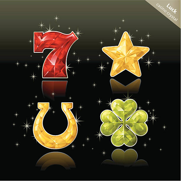 Casino Crystal (Lucky) http://i172.photobucket.com/albums/w27/chihhang/RelatedImages.jpg good luck charm stock illustrations